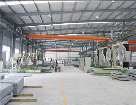 Automatic Moulding Machines - Monthly capacity is 500 cubic meters of special shaped stones.