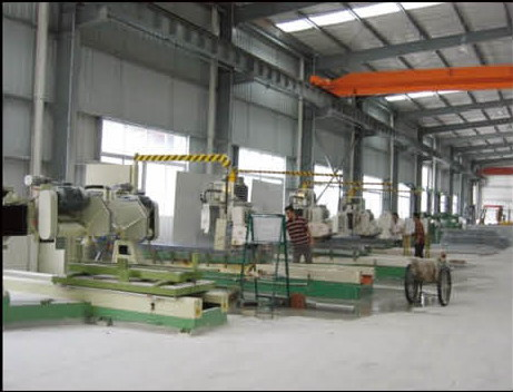 Digital Wire Saw for columns and various curved panels.